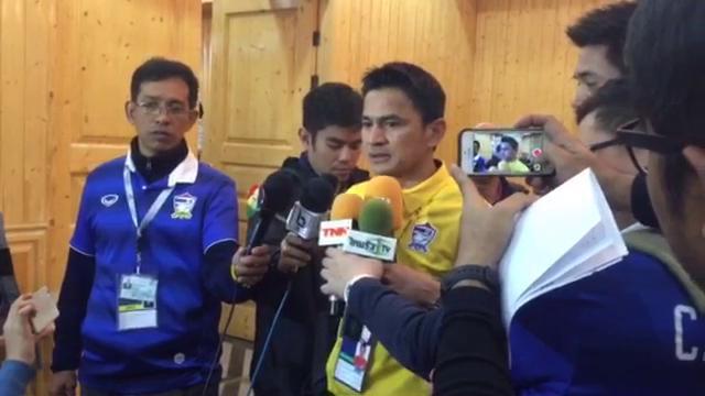 """""""ซิโก้"""" เผยไทยไม่กลัวเกาหลีใต้-ผลเสมออิรักชี้สู้ได้กับทุกทีมในเอเชีย"""