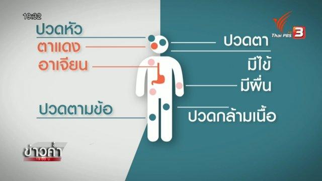 ประวัติการค้นพบไวรัสซิกา การระบาด และอาการของผู้ติดเชื้อ